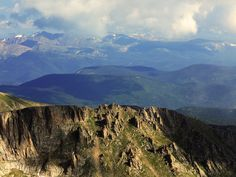 View from Mt Evans, Colorado