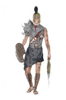 Déguisement gladiateur zombie adulte