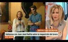 Nuestro querido Juan José Padilla esta mañana en Espejo Publico. Te deseamos una pronta recuperación maestro!
