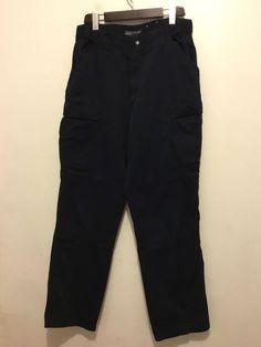"EX Marks /& Spencer Black Zip Pocket Bootleg Classic Smart Trousers 8 10  L29/"""