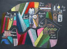 #london #londres #city #citymap #isabelmarant #boroughmarket #storydeli #monmouthcoffee #petershamnurseries #yoga #tatemodern  #custom #custommade #madetoorder #audreydemarre #embroidery #madeinfrance #columbiaroad #flowermarket Monmouth Coffee, Columbia Road, Flower Market, Cross Stitch, Nursery, Kids Rugs, Yoga, London, Embroidery