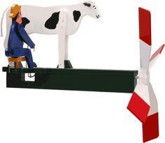 Cow Milking Whirligig