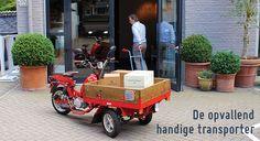 MGB Delivery - de opvallend handige transportbrommer