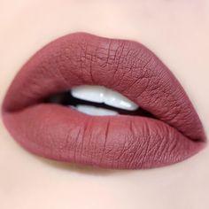 Girlactik - Matte Lip Paint: Demure #Labios #Swatch #Lips