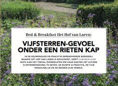 Het Hof van Laren is Beste Bed & Breakfast van Nederland 2016