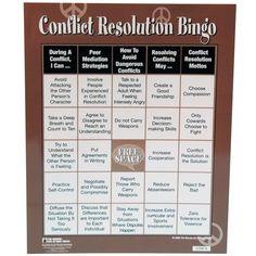 conflict resolution bingo - Google Search
