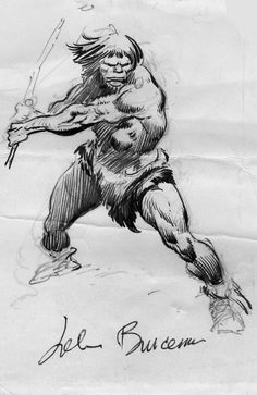 Sketch by John Buscema
