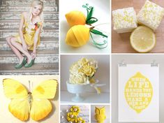 Make Lemonade - Bright Yellow Wedding Inspiration and Ideas Wedding Themes, Wedding Colors, Wedding Ideas, Fall Wedding, Yellow Wedding, Happy Colors, Color Of The Year, Pantone Color, Color Splash