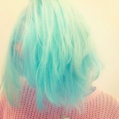 Insta-Stalking: Bleach London, For Your Rainbow-Hair Dreams #refinery29  http://www.refinery29.com/bleach-london-instagram#slide5  This pastel blue is so intense it almost glows.