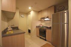 Modern Condo, Condo Design, Condo Living, French Door Refrigerator, Design Model, Dining Room, Kitchen Appliances, The Unit, Concept