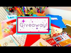 Back To School Supplies Haul +Giveaway | Αγορές Σχολείου | Izzy D. - YouTube