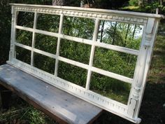 Mantel  window  mirror  Cape Cod French Country by usawoodworks, $365.00