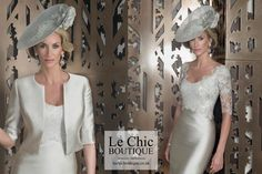 Mother of the Bride dress by designer John Charles 25869 - mother-bride.com