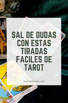 Quítate las dudas y mejor pregúntale al #tarot.