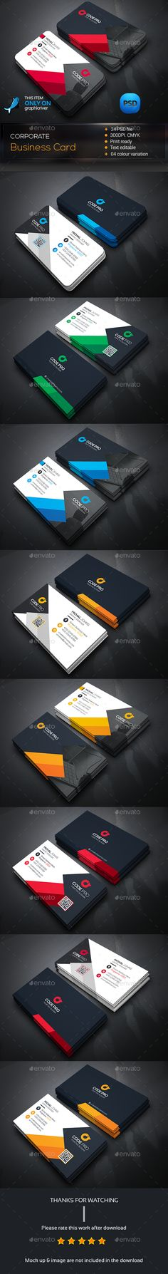 Creative Business Card Bundle — Photoshop PSD #blue #landscape • Available here → https://graphicriver.net/item/creative-business-card-bundle/14428694?ref=pxcr