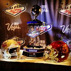 USC Football Fight On Las Vegas Bowl 2013