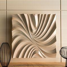 3d Wall Panels, Wood Panel Walls, Wooden Wall Art, Wood Wall, Cnc Cutting Design, 3d Cnc, Wood Carving Art, Wood Sculpture, Furniture Design