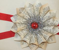 I need to find some old books and create this in time for the holidays!