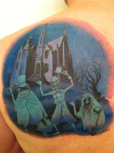 Disney's Haunted Mansion Tattoo