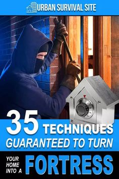 When the SHTF, even law-abiding citizens may turn to crime in order to put food on the table. Here are 35 home security tips and techniques to try. Urban Survival, Survival Life, Survival Prepping, Emergency Preparedness, Survival Skills, Emergency Planning, Survival Hacks, Survival Stuff, Tips