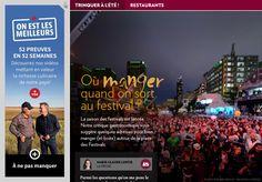 Où manger quand onsort au festival? - La Presse+ Resto Montreal, Restaurants, Critique, Place, Festivals, Eating Well, Fine Dining, Travel, Restaurant