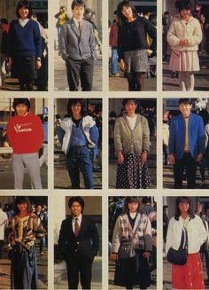 Japan Fashion, 80s Fashion, Daily Fashion, Vintage Fashion, Fashion Outfits, Fashion Collage, Character Outfits, Historical Clothing, Aesthetic Fashion