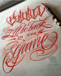 Script done by @comomucholucho from Peru @comomucholucho @comomucholucho #letteringcartel #lettering #script #customscript #customlettering #chicano #typ #typo #typography #typographic #typographyinspired #tattooart