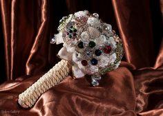 Buchet de #mireasa din brose – #handmade #bride #accessories #brooch #bouquet Online Gallery, Brooch, Wreaths, Halloween, Wedding, Accessories, Jewelry, Decor, Brooch Pin