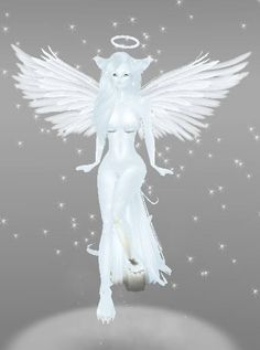 IMVU ~:Furry ~♥~ Animals:~ A customize style of The White Fox Angel :) Please click picture for full size :)