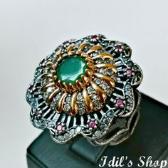 Authentic Turkish Ottoman Style Handmade 925 Sterling by IdilsShop, $75.00