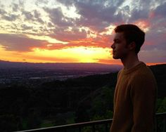 There is nothing more beautiful than Cameron ♡ even this sunset