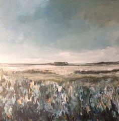 "Landscape "" Barefoot walk "" (110x110cm)"