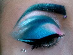 Mermaid make-up?