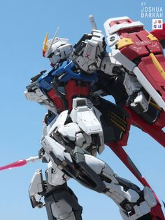 MG 1/100 Aile Strike Gundam Ver. RM - Customized Build