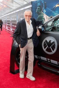 Stan Lee at 'The Avengers' world premiere