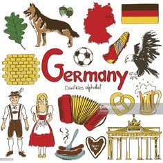 The flag, German Shepherds, and Berlin–Germany has so many things to offer! The 'G' is for Germany in our alphabetical countries worksheets, Flags Of European Countries, Countries And Flags, Countries Of The World, Geography For Kids, World Geography, Cultures Du Monde, World Cultures, Germany For Kids, About Germany