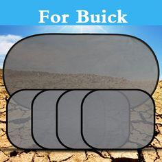 5Pcs/Set Car Window Sun Visor Shade Curtain Mesh Sunshade Covers For Buick Lucerne Park Avenue Rainer Rendezvous Verano