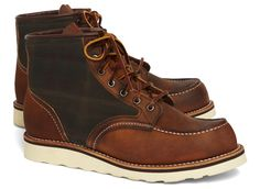 brooks brothers for red wing 4553 tartan panel boot