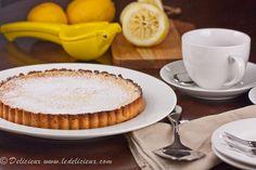 Lemon Tart on http://www.ledelicieux.com