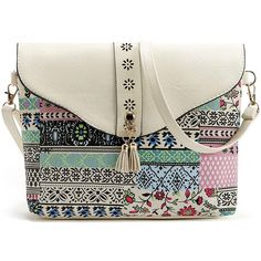 f278f7bc44be Hot-sale designer Women Faux Leather Bohemia Flap Shoulder Bag Tassel  Hollow Out Crossbody Bag