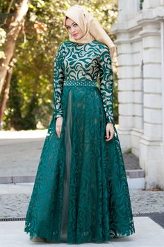 Eid Outfits You Can Use on Victory Day Later - TrendMagz Gaun Dress, Dress Pesta, Muslim Evening Dresses, Muslim Dress, Muslim Women Fashion, Islamic Fashion, Abaya Fashion, Fashion Dresses, Hijabi Gowns