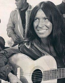 Buffy Sainte-Marie- Singer-songwriter-actress- http://www.creative-native.com/