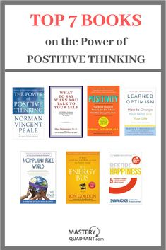 Top 7 Books that explain the power of positive thinking and how to develop the same Top Books To Read, Good Books, Book Challenge, Reading Challenge, Book Club Books, Book Lists, Best Non Fiction Books, Drug Quotes, Books For Self Improvement