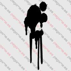 Pegame.es Online Decals Shop  #paint #spot #dirty #vinyl #sticker #pegatina #vinilo #stencil #decal