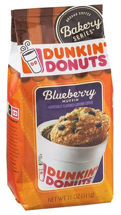 Dunkin' Donuts Ground Coffee Bakery Series Blueberry Muffins 11 OZ (Pack of 12) >>> Want additional info? Click on the image.