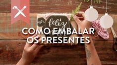 DIY: Como Fazer Embrulho de Presente Criativo para o Natal | WESTWING