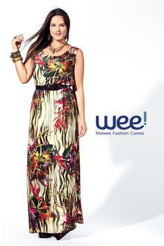 Ahhh o verão, as cores, as estampas... Já viu a nova coleção? #fashion #fashioncurves #curvy