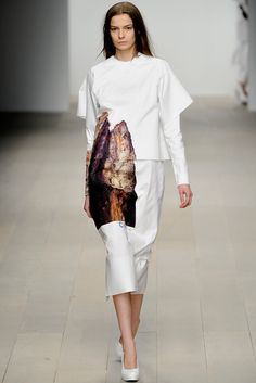 FALL 2012 READY-TO-WEAR Central Saint Martins Charlotte Helyar