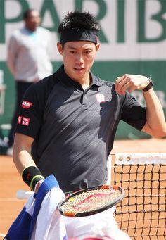 25 MAY 2016 K Kei Nishikori, Tennis Stars, Tennis Players, Athletes, Studs, Action, Athlete, Asparagus, Group Action