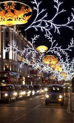 Christmas Lights.. Regent Street, London